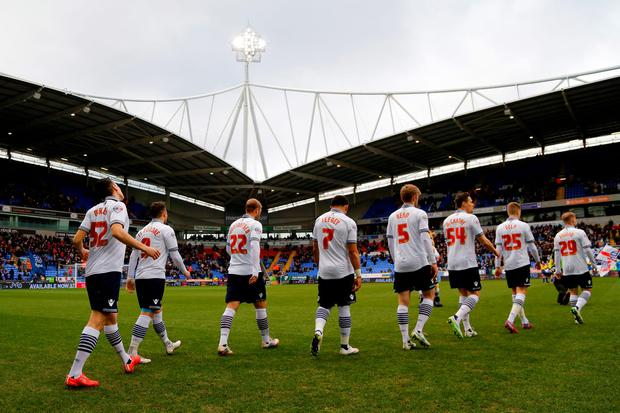 Bolton players were not paid in November