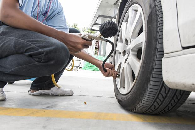 Check your tyre pressure regularly