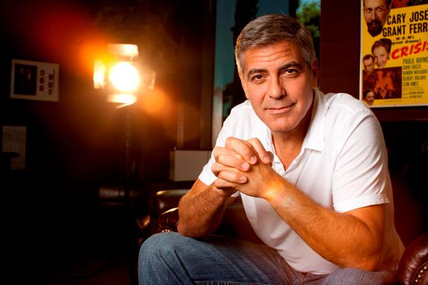 Donors can spend time with George Clooney and help fight AIDS