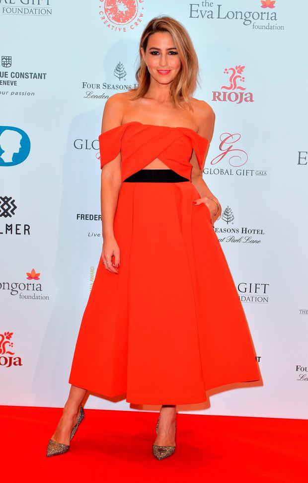 Rachel Stevens attends The Global Gift Gala at Four Seasons Hotel on November 30, 2015 in London, England. (Photo by Anthony Harvey/Getty Images)