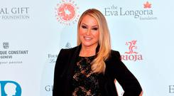 Anastacia attends The Global Gift Gala at Four Seasons Hotel on November 30, 2015 in London, England. (Photo by Anthony Harvey/Getty Images)