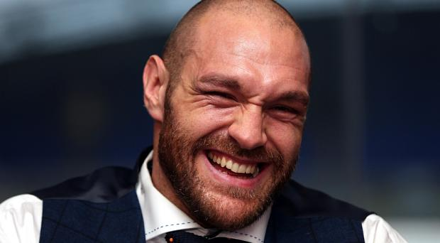 Tyson Fury claims he was worried about his drink being spiked after beating Wladimir Klitschko