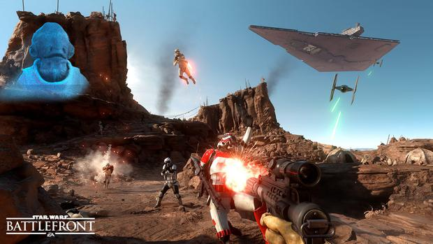 Star Wars Battlefront: Gorgeous locations, frantic action