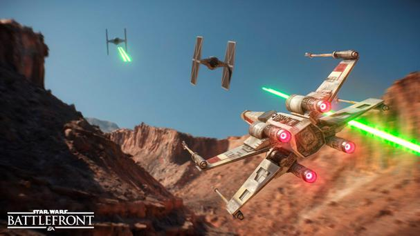 Star Wars Battlefront: The aerial dogfights pale beside the ground-based action