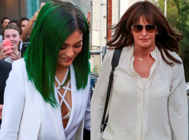Kylie and Caitlyn Jenner in LA