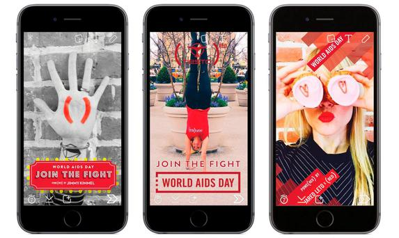 Bill Gates will donate $3 for every snap that uses one of the three [RED] filters