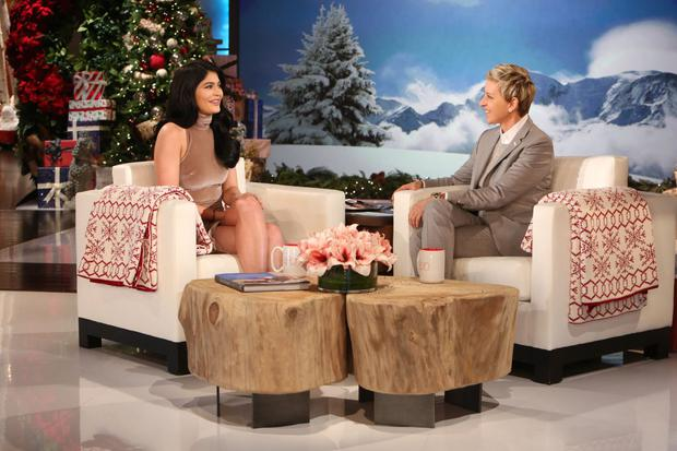 Kylie Jenner on The Ellen Show