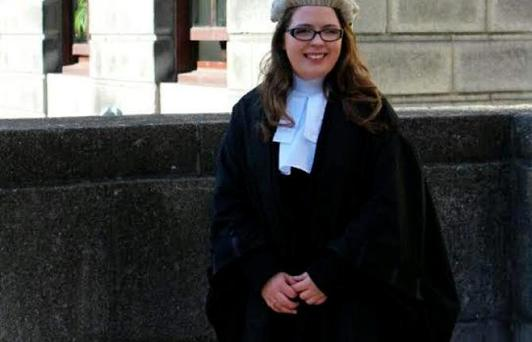 Claire Geraghty recently graduated from the Honourable Society of King's Inns as a Barrister-at-Law