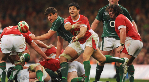 Mike Phillips in action against Ireland during the 2009 Grand Slam decider Picture credit: Matt Browne / SPORTSFILE