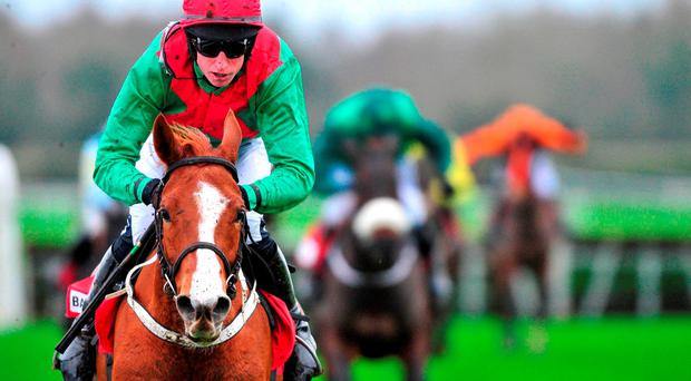 Rashaan stretched its unbeaten hurdling record to three in fine style at Fairyhouse last Sunday.