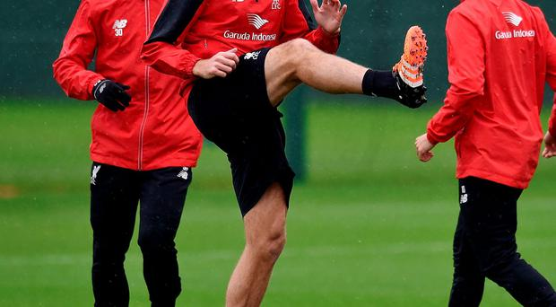 Steven Gerrard's presence at Liverpool's training ground will provide a boost for his old colleagues.