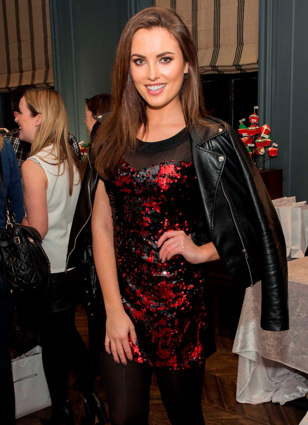 Model Holly Carpenter at a Littlewoods event l in The Dean, Harcourt Street