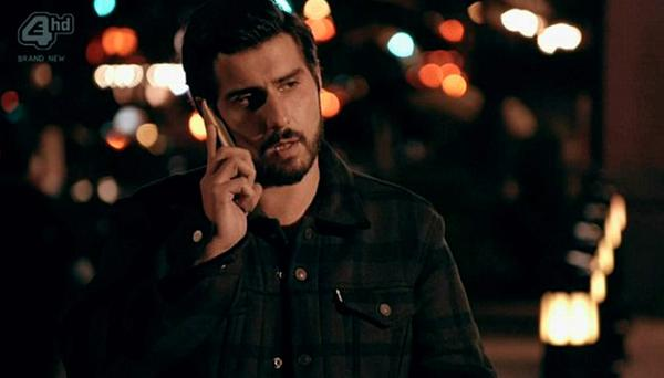 Alik takes the call from Louise