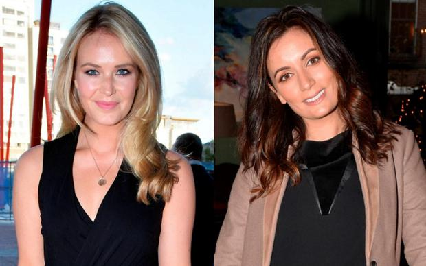 Aoibhin Garrihy (left) and Louise Duffy (right)