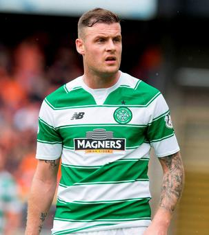 Celtic have suspended Anthony Stokes for two weeks following his complaints about being left out of the squad