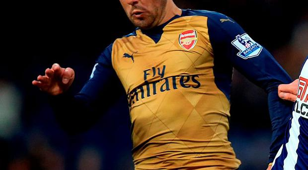Arsenal's Santi Cazorla has been ruled out for 3 months with knee ligament damage