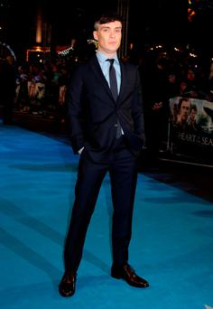 Cillian Murphy arriving for the European premiere of In the Heart of the Sea at the Empire, Leicester Square in London. PRESS ASSOCIATION Photo. Picture date: Wednesday December 2, 2015. Photo credit should read: Yui Mok/PA Wire