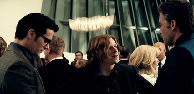 Henry Cavill, Jesse Eisenberg, Ben Affleck in Batman Vs Superman Dawn of Justice