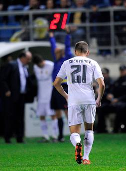 Denis Cheryshev of Real Madrid was fielded despite being ineligible (Photo by Denis Doyle/Getty Images)