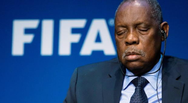Sleeping acting FIFA President Issa Hayatou insists body is not corrupt (Getty Images)
