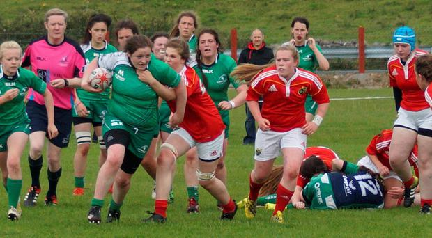 Mary O'Grady from Clare Island in action