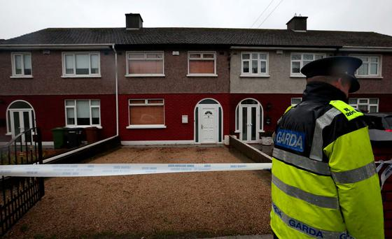 The house on Gracefield Road, Artane, from where the woman and her daughter were abducted