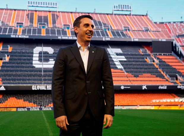 Gary Neville has found an easy route into top-level management