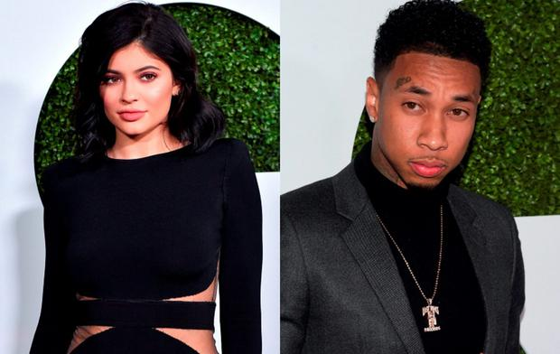 Kylie Jenner and Tyga walked the red carpet separately at the GQ 20th Anniversary Men of the Year party in LA