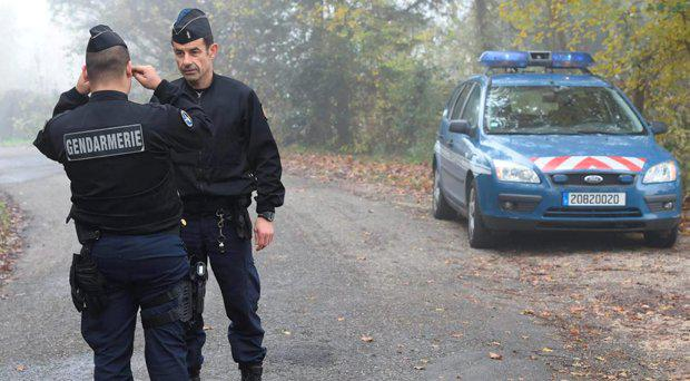 Local police sealed off the road leading to their home in Foulayronnes, south-west France