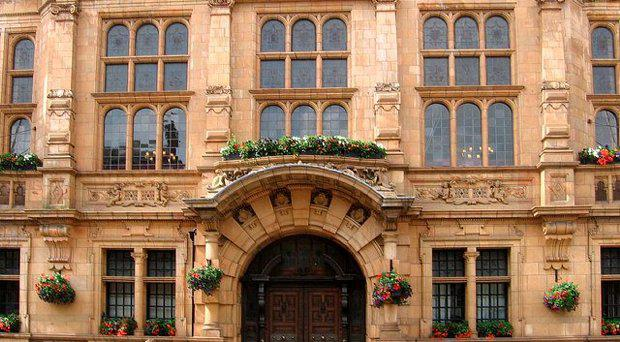 Hereford Town Hall where the inquest took place