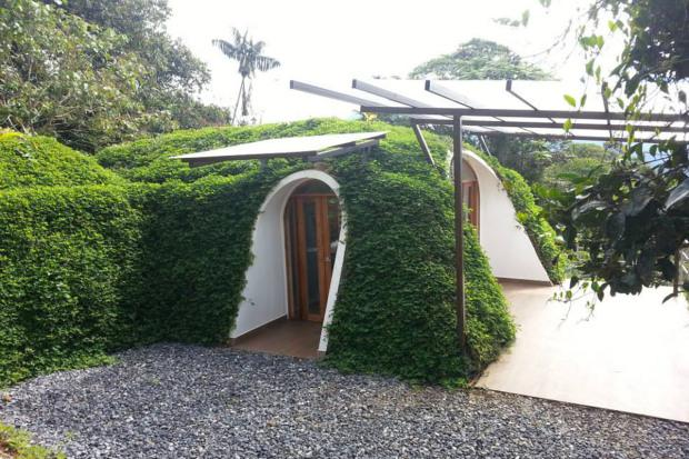 The smallest one-bedroom pods measure 400 square foot and take three days to assemble. Credit: Green Magic Homes website