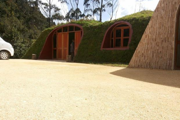 A garage 'module' can be added Credit: Green magic Homes website