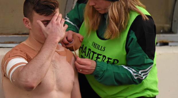 Kerry star James O'Donoghue faces at least four months out of action after he popped his left shoulder. Sportsfile