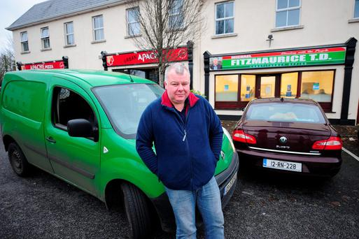 Michael Fitzmaurice outside his constituency office in Roscommon town. Photo: James Flynn
