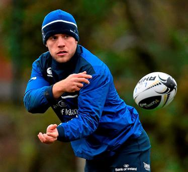 Ian Madigan gets a rare opportunity in the No 10 shirt