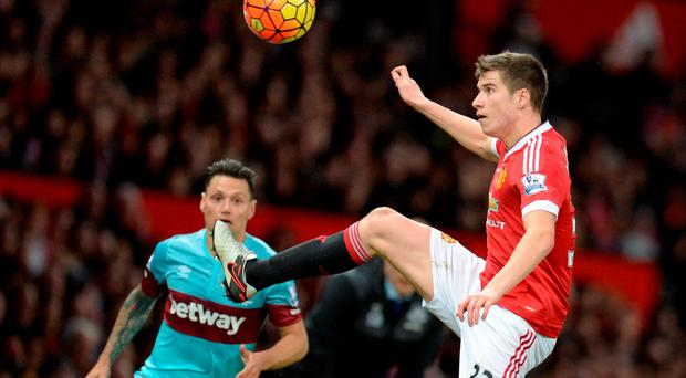 Paddy McNair joined Sunderland on loan from Manchester United
