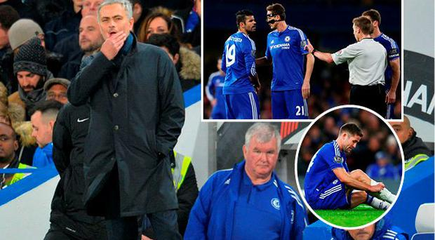 Chelsea manager Jose Mourinho says the club won't be fighting relegation