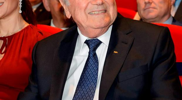 'A source close to Sepp Blatter said that the suspended FIFA president was definitely not Co-Conspirator #17 but would say only that he did not think the Swiss (79), was Co-Conspirator #14'