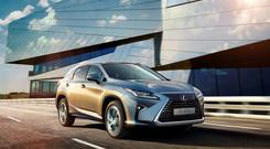 Luxury: The Lexus RX450h has top-quality levels of technology and safety devices and offers an exceptionally quiet drive