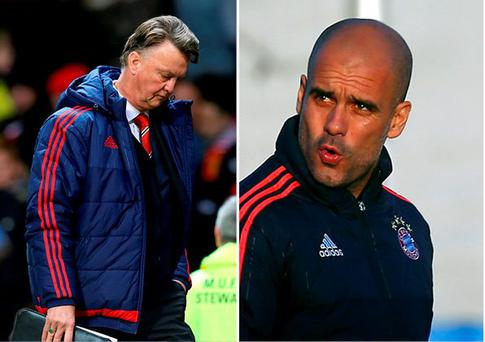 Manchester United will stick with Louis van Gaal and not approach Pep Guardiola