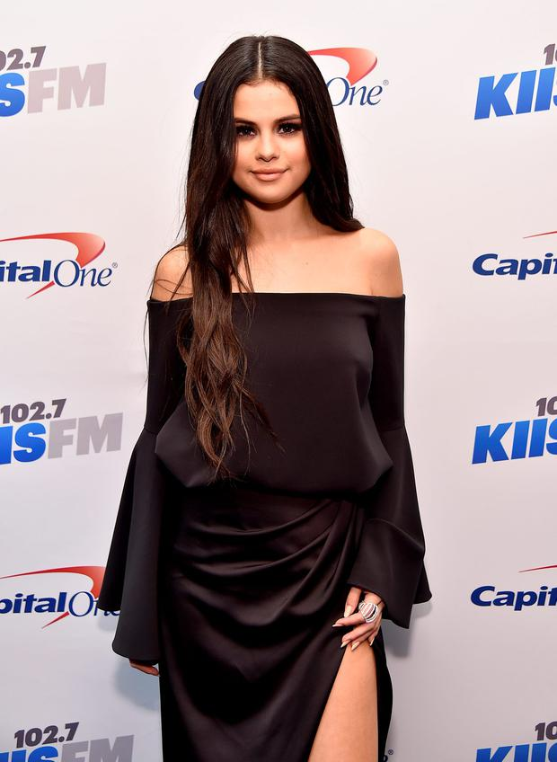 Actress/recording artist Selena Gomez attends 102.7 KIIS FMs Jingle Ball 2015 Presented by Capital One at STAPLES CENTER on December 4, 2015 in Los Angeles, California. (Photo by Mike Windle/Getty Images for iHeartMedia)