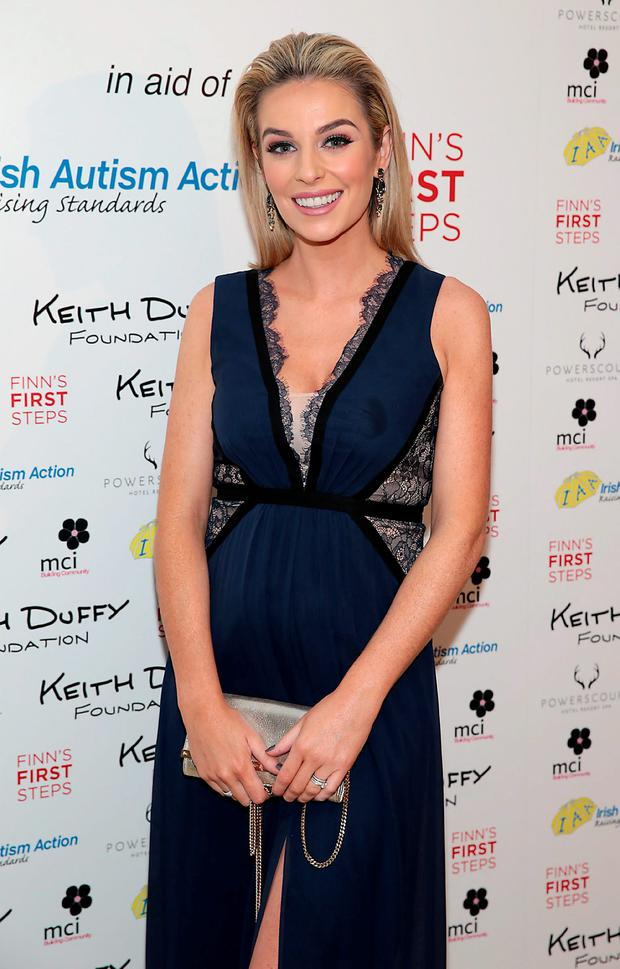 Pippa O'Connor pictured at the Keith Duffy Foundation Charity Ball at Powerscourt Hotel in Enniskerry to raise funds for Irish Autism Action and Finn's First Steps Charities. Picture: Brian McEvoy