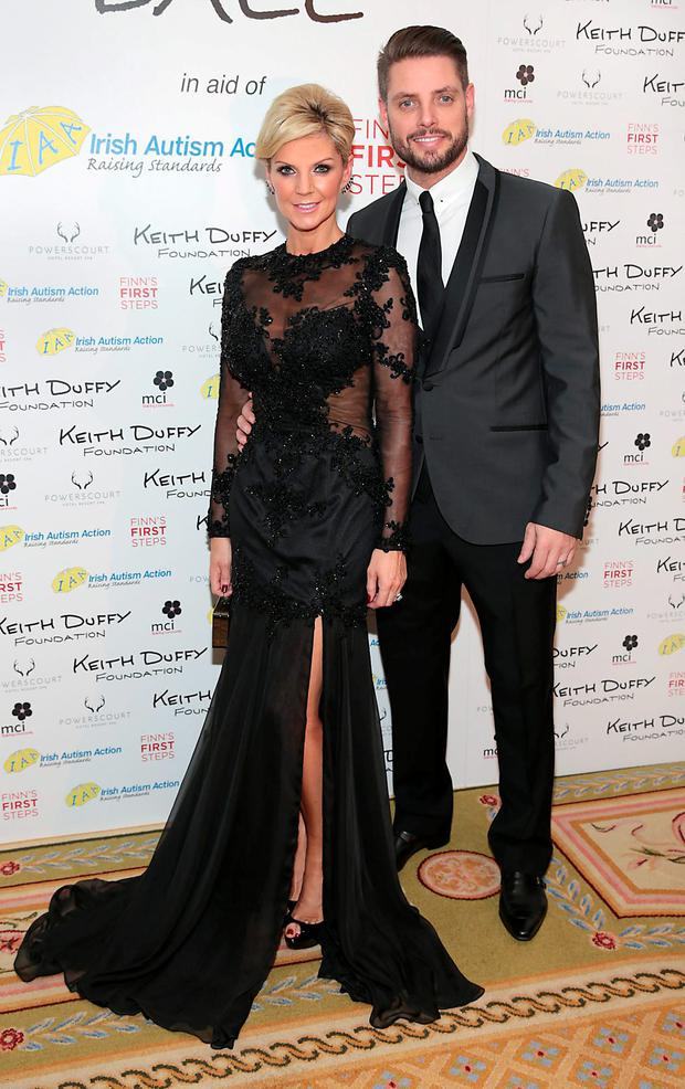 Lisa Duffy and Keith Duffy pictured at the Keith Duffy Foundation Charity Ball at Powerscourt Hotel in Enniskerry to raise funds for Irish Autism Action and Finn's First Steps Charities. Picture: Brian McEvoy