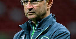Martin O'Neill, the Philips Manager of the Month for November