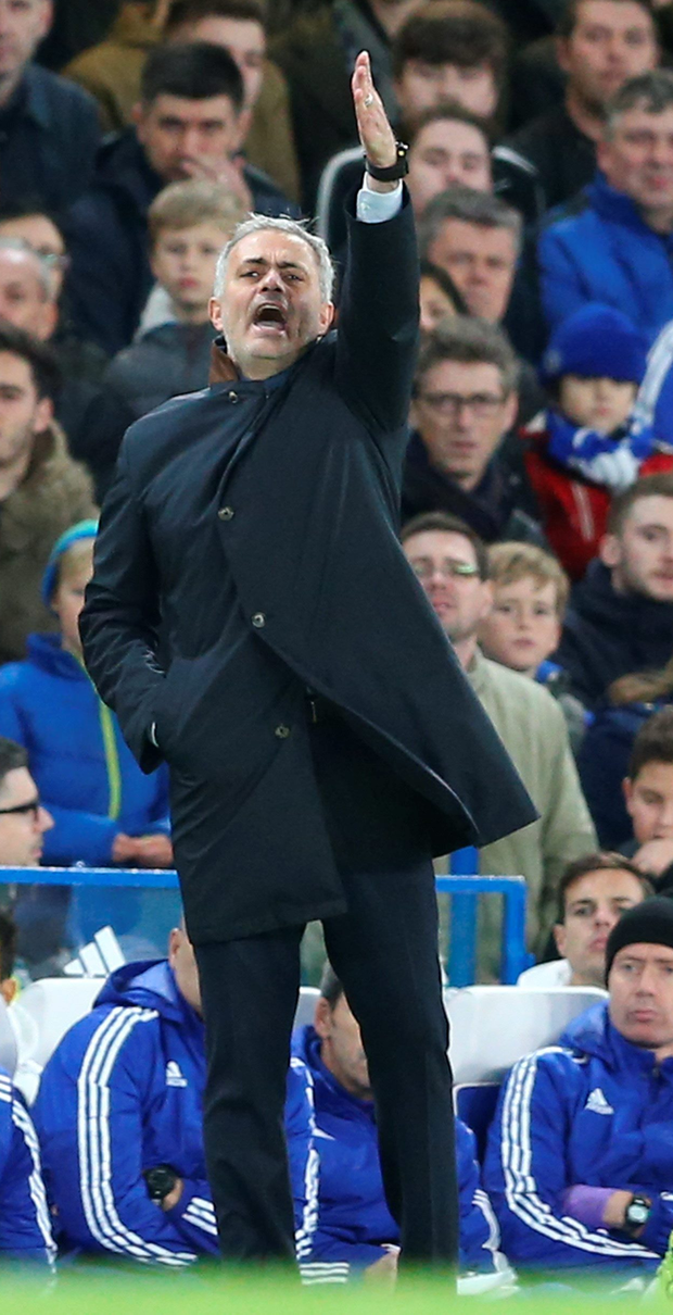 Chelsea boss Jose Mourinho was frustrated after another loss, this time at the hands of lowly Bournemouth at Stamford Bridge