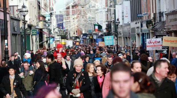 Irish shoppers are likely to spend €4.05bn this year, up from €3.92bn in December 2014