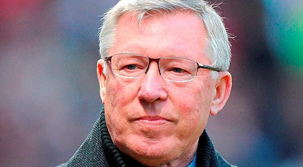 Alex Ferguson never shied away from a row with the press. PA Wire