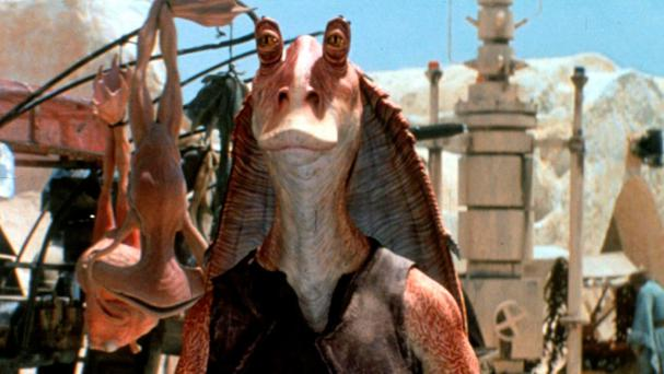 Jar Jar Binks in The Phantom Menace