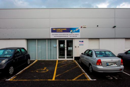 The Compassion centre, Ballymun, scene of armed robbery.