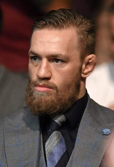 UFC fighter Conor McGregor Conor McGregor faces Jose Aldo in a featherweight title unification bout on Saturday night